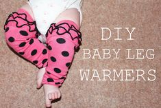 Red and Beautiful Ooh La Leggies Ruffled Baby Leg Warmers White