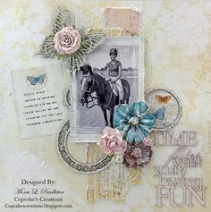 Time flies...OUAS March ~ Cupcake's Creations