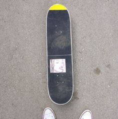 cool griptape job with clear grip