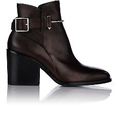 Pierced Ankle Boots