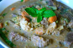 Braised Thai Green Curry With Grass Fed Boneless Beef Short Ribs