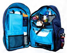Amazon.com: Okkatots Baby Depot Diaper Bag Backpack ~ Choose Color (Navy): Clothing