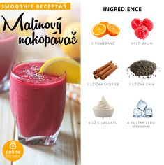 Milujeme smoothie, aneb 10 skvělých receptů, které musíš zkusit! | Blog | Online Fitness Fitness Smoothies, Smoothie Prep, Smoothie Drinks, Fruit Smoothies, Smoothie Recipes, Snack Recipes, Healthy Drinks, Healthy Cooking, Healthy Snacks