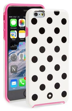 Free shipping and returns on kate spade new york 'le pavillion' iPhone 6 Plus case at Nordstrom.com. Signature polka dots add polish on a hard-shell case that shields your iPhone from scuffs and scratches while channeling impeccable cosmopolitan flair.
