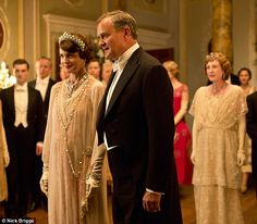 Season 4, Episode 8 - Having a ball: Countess and Earl of Grantham host a party at their London residence, Grantham House