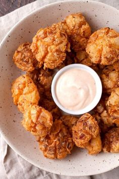 Bite Sized Blooming Onions -- part of The Most Delicious Appetizer Recipes