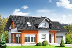 Fachada de casa clásica de tejas negras #fachadasdecasasclasicas