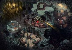 Luis Melo - Alice: Madness Returns, Spicy Horse Games.