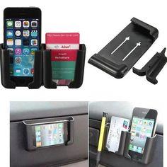H, Universal Mutifunctional Car Mount Storage Holder For iPhone