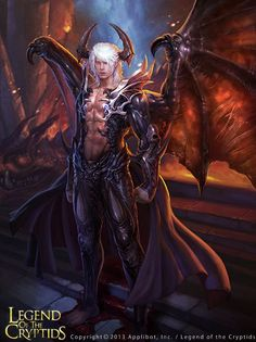 Image result for sexy  male demon art