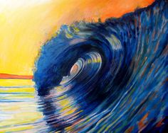 Karlin Meehan wave painting 2012