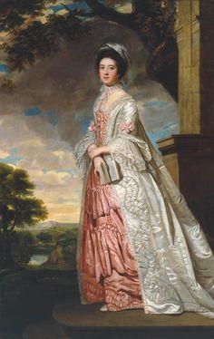 British School 18th century 'Mrs Cadoux', c.1770