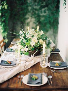 Overgrown Garden Wedding Inspiration via oncewed.com