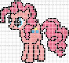 my little pony cross stitch - use for perler beads