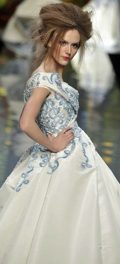 John Galliano for Christian Dior Spring Summer 2009 Haute Couture