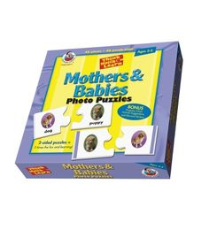 Mothers and Babies Floor Puzzle - Carson Dellosa Publishing Education Supplies