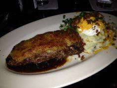 Steakhouse Chain Restaurant Recipes: Parmesan Encrusted Steak