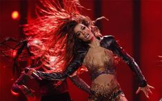 Photo gallery: Eleni Foureira shows off glitter bodysuit in second rehearsal Armenia, Hetalia, Eurovision France, Terry Wogan, Glitter Bodysuit, Big Songs, Duncan, Photo Galleries, Wonder Woman