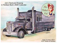 Truck Art, Trucks, Drawings, Vehicles, Truck, Sketches, Car, Drawing, Portrait