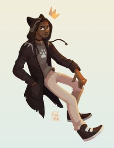I couldn't stop thinking about T'Challa in a cat hoodie so…. I am so psyched for next Thursday, this movie is gonna wreck me.