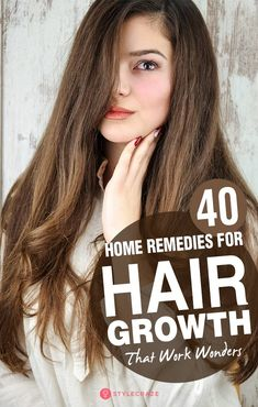 Hair Remedies 40 Powerful Home Remedies For Hair Growth That Work Wonders - From teenagers to oldies, everyone desires thick, long, and lustrous hair. Given here are powerful home remedies for hair growth that work wonders, have a look Black Hair Growth, Extreme Hair Growth, Natural Hair Growth, Natural Hair Styles, Long Hair Styles, Hair Growth Home Remedies, Home Remedies For Hair, Hair Loss Remedies, Acne Remedies
