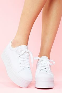 Zomg Platform Sneaker - White