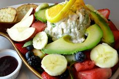 Start your holiday week with a healthy lunch at Egg Harbor Cafe. Try one of their summer salads! #KentsDeals