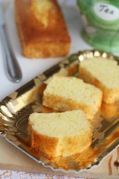 Lemon Buttermilk Pound Cake.