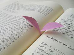 Marcadores de livro (que florescem!)