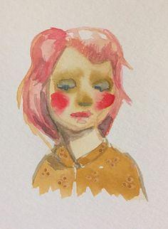 Painted Ladies 4.5x6 Original Watercolor by KlayArsenault on Etsy