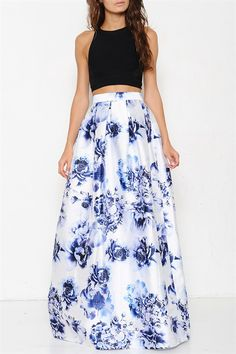 Hudson Maxi Skirt – Saule Boutique I love this. Maxi Skirt Outfits, Maxi Skirts, Dress Skirt, Dress Up, Floral Print Skirt, Floral Maxi, Passion For Fashion, Dress To Impress, Cute Outfits