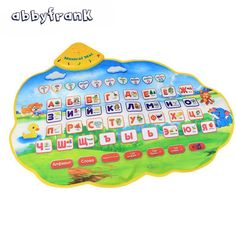 Discount! US $10.79  Abbyfrank Russian Vocal Toy Electronic Posters Alphabet Baby Musical  Animal Sound Learning Educational Toy for Children   #Abbyfrank #Russian #Vocal #Electronic #Posters #Alphabet #Baby #Musical #Animal #Sound #Learning #Educational #Children  #Online