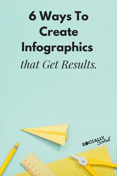 How to Create Infographics that Get Results - new research and how you can leverage it! Use infographics to sum up weekly topic Content Marketing, Social Media Marketing, Affiliate Marketing, Marketing Strategies, How To Create Infographics, Social Media Influencer, Pinterest For Business, Tool Design, Diy Design