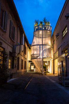 The MINI LIVING – Breathe Installation at Milan Design Week