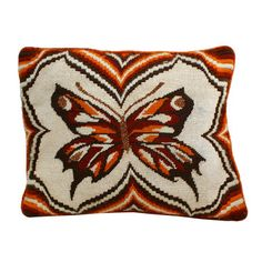 '70s Needle Butterfly Pillow, $40, now featured on Fab.