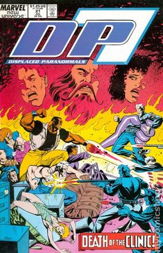 dp7 comic book covers - Google Search