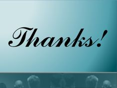 """Should you say """"thank you"""" at the end of a presentation?"""