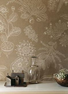 Zoffany wallpaper Botanique Weave APR07001, www.eadeswallpaper.com  #designerwallpaper  #wallpapersale  #DIY