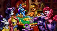 2017-03-13 - High Resolution Wallpapers my little pony friendship is magic picture - #1869489