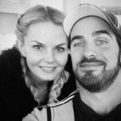 Jen & Colin doing selfies again.