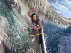 Austral Fisheries prawn trawler first mate Nadine Adams