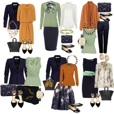 """Business capsule wardrobe inspired"" by ladymarmelade on Polyvore"