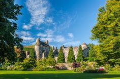 Set in the picturesque village of Falkland, this palace was the favourite  retreat of the Stuart dynasty, especially Mary Queen of Scots who visited for  the hunting, hawking and tennis.