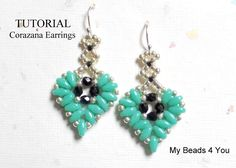 Looking for your next project? You're going to love Corazana Beaded Earring Tutorial by designer My Beads 4 You.