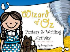 Wizard of Oz Posters & Corresponding Writing Activity