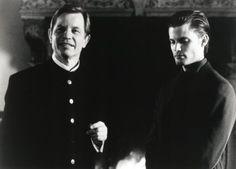 Still of Casper Van Dien and Michael York in The Omega Code
