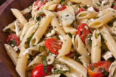Cold Pasta Salad with Baby Artichokes (Pinninos kin Iscarzofa) Recipe - CHOW
