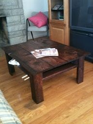 Pallet - Pallet Coffee Table - Repurposed Pallets
