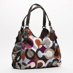 Bags | Coach madison graphic op art maggie shoulder bag | All Handbag Fashion
