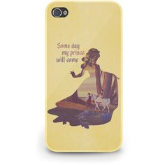 Snow White Quote Disney - Hard Cover Case iPhone 5 4 4S 3 3GS HTC... (72 BRL) ❤ liked on Polyvore featuring accessories, tech accessories, phone cases, phones, disney and iphone